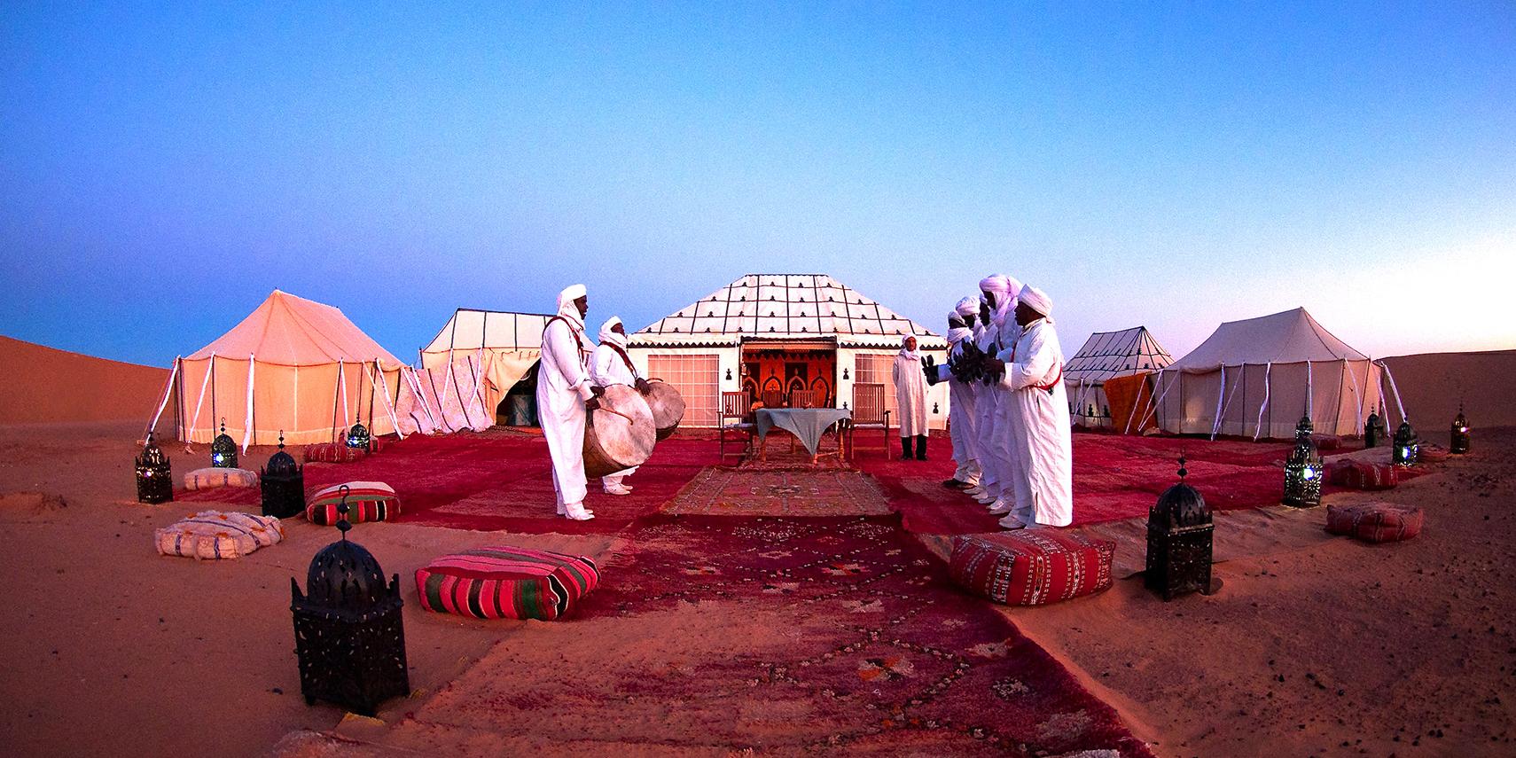Camp de désert & Oasis